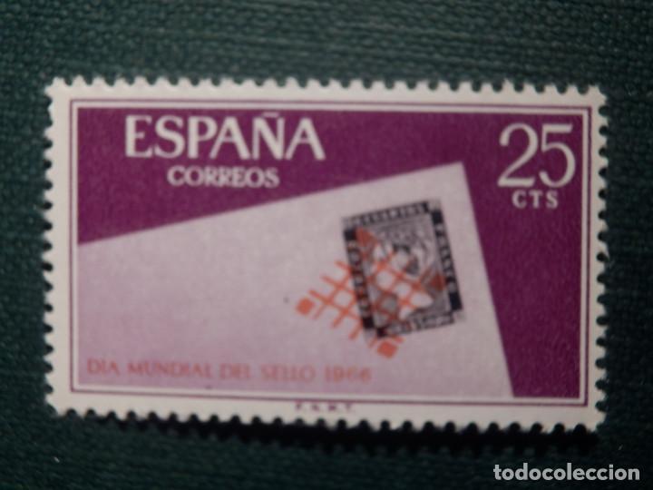 Sellos: SELLO - Serie Día Mundial del sello - EDIFIL 1723, 1724 y 1725 - AÑO 1966 - 3 valores - Foto 2 - 146683362