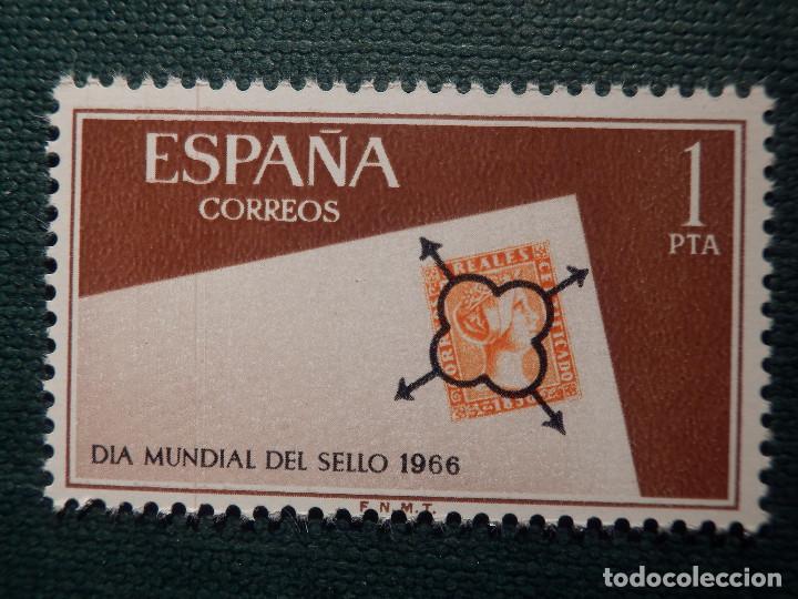 Sellos: SELLO - Serie Día Mundial del sello - EDIFIL 1723, 1724 y 1725 - AÑO 1966 - 3 valores - Foto 3 - 146683362