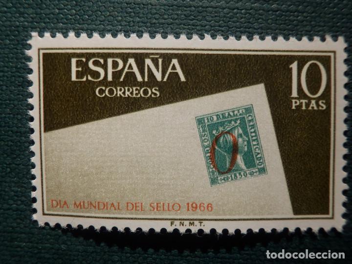 Sellos: SELLO - Serie Día Mundial del sello - EDIFIL 1723, 1724 y 1725 - AÑO 1966 - 3 valores - Foto 4 - 146683362