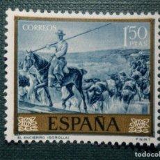 Sellos: SELLO - JOAQUIN SOROLLA, EL ENCIERRO - EDIFIL 1571 - AÑO 1964 - 1,50 PESETA - . Lote 152844654