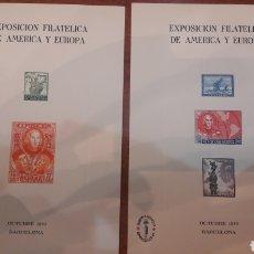 Sellos: BARCELONA 1997 RARAS HOJAR RECUERDO OFICIALES. Lote 147035144