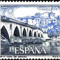 Sellos: [CF2343] ESPAÑA 1965, SERIE TURÍSTICA. ZAMORA. 70 C. (MNH). Lote 147754562