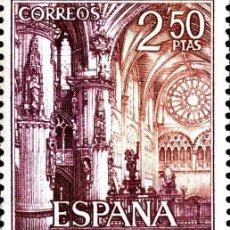 Sellos: [CF2344] ESPAÑA 1965, SERIE TURÍSTICA. CATEDRAL DE BURGOS. 2,50 P. (MNH). Lote 147755354