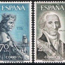 Sellos: [CF2345] ESPAÑA 1965, SERIE PERSONAJES ESPAÑOLES (MNH). Lote 147774934