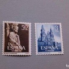 Sellos: ESPAÑA - 1954 - EDIFIL 1130/1131 - SERIE COMPLETA - MNH** - NUEVOS - VALOR CATALOGO 105€.. Lote 147790222