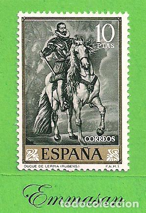 EDIFIL 1437. PEDRO PABLO RUBENS - ''DUQUE DE LERMA''. (1962).** NUEVO SIN FIJASELLOS. (Sellos - España - II Centenario De 1.950 a 1.975 - Nuevos)