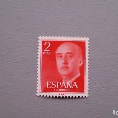 Sellos: ESPAÑA - 1955-56 - GENERAL FRANCO - EDIFIL 1157 - MNH** - NUEVO - CENTRADO - SELLO CLAVE DE LA SERIE. Lote 148198042