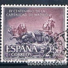 Sellos: ESPAÑA 1961 SELLO USADO EDIFIL 1391 IV CENT. CAPITALIDAD DE MADRID. Lote 148248226