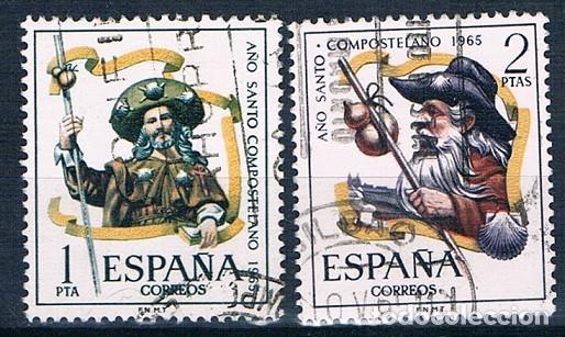 ESPAÑA 1965 SELLOS USADO EDIFIL 1672/1673 SERIE (Sellos - España - II Centenario De 1.950 a 1.975 - Usados)