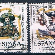Sellos: ESPAÑA 1965 SELLOS USADO EDIFIL 1672/1673 SERIE. Lote 148496646