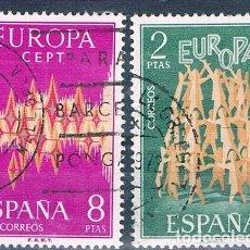 Sellos: ESPAÑA 1972 SELLOS USADO EDIFIL 2090/2091 SERIE. Lote 148600078