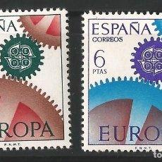 Sellos: ESPAÑA - 1967 - EUROPA-CEPT - EDIF- 1795-96. Lote 148977490