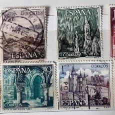 Sellos: ESPAÑA 1964, 8 SELLOS USADOS DIFERENTES . Lote 151352266