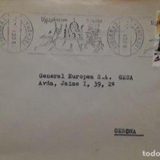 Sellos: INAUGURACION TEATRO DALI FIGUERAS GIRONA. MATASELLOS.. Lote 151872898