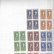 Sellos: EDIFIL 1075-1082 (BLOQUE 4) CENTENARIO DEL SELLO ESPAÑOL. Lote 151983298