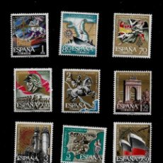 Sellos: XXV ANIVERSARIO DEL ALZAMIENTO NACIONAL - EDIFIL 1353-64 - 1961. Lote 152442954