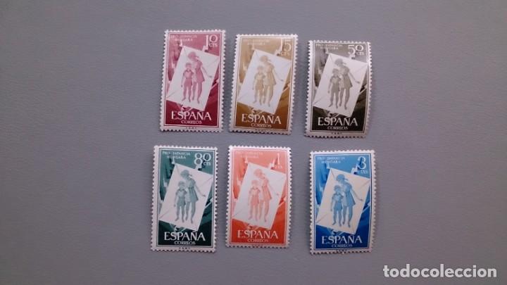 ESPAÑA - 1956 - EDIFIL 1200/1205 - SERIE COMPLETA - MNH** - NUEVOS - VALOR CATALOGO 26,50€ (Sellos - España - II Centenario De 1.950 a 1.975 - Nuevos)