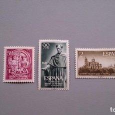 Sellos: ESPAÑA - 1953 - EDIFIL 1126/1128 - SERIE COMPLETA - MH* - NUEVOS - UNIVERSIDAD DE SALAMANCA.. Lote 153404738