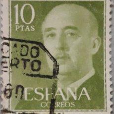 Sellos: SELLO ESPAÑA EDIFIL N°1163 GENERAL FRANCO EDIFIL. Lote 153511629