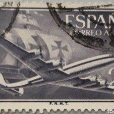 Sellos: SELLO ESPAÑA EDIFIL N°1170 NAO SANTA MARÍA Y AVIÓN. Lote 153511840
