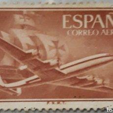 Sellos: SELLO ESPAÑA EDIFIL N°1177 NAO SANTA MARÍA Y AVIÓN. Lote 153511981
