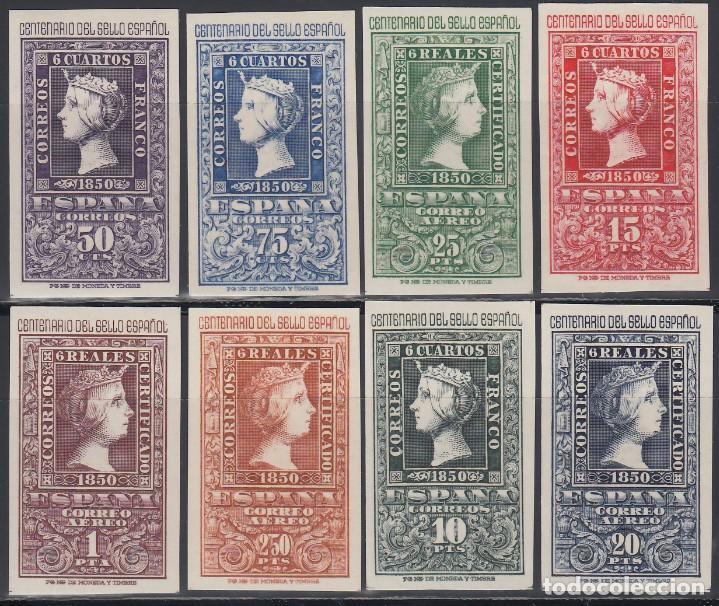 ESPAÑA, 1950 EDIFIL Nº 1075 / 1082 /**/, CENTENARIO DEL SELLO ESPAÑOL. (Sellos - España - II Centenario De 1.950 a 1.975 - Nuevos)