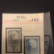 Sellos: SELLO FRANCO IFNI 1950 COMPLETAMENTE NUEVO COLECCIONISTA. Lote 153742100