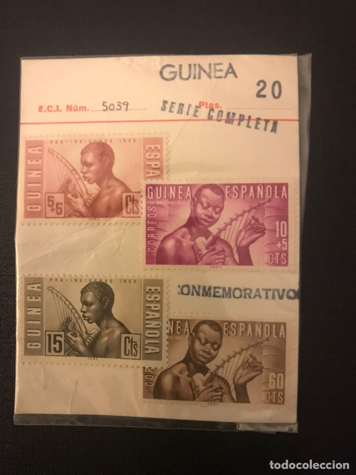 SELLO GUINEA ESPAÑOLA SERIE COMPLETA NUEVO COLECCIONISTA (Sellos - España - II Centenario De 1.950 a 1.975 - Nuevos)