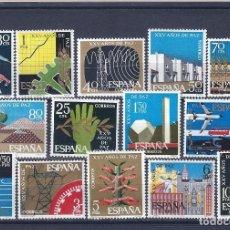 Sellos: EDIFIL 1576-1589 XXV AÑOS DE PAZ ESPAÑOLA 1964 (SERIE COMPLETA). MNH **. Lote 234025935