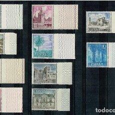 Sellos: ESPAÑA - EDIFIL 1726/35 - SERIE TURISMO - NUEVO BORDE HOJA. Lote 154544594