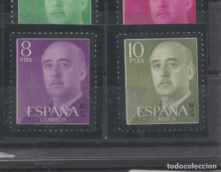 Sellos: ESPAÑA=Nº 1143/63_FRANCO SELLOS DE LUTO CONMEMORANDO LA MUERTE DEL CAUDILLO_VER FOTOS - Foto 2 - 155262514