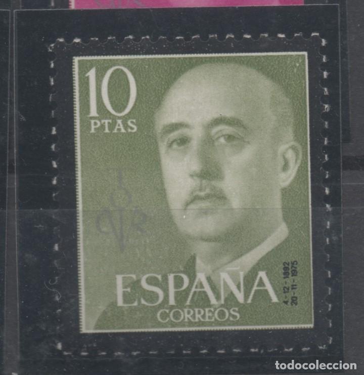 Sellos: ESPAÑA=Nº 1143/63_FRANCO SELLOS DE LUTO CONMEMORANDO LA MUERTE DEL CAUDILLO_VER FOTOS - Foto 5 - 155262514