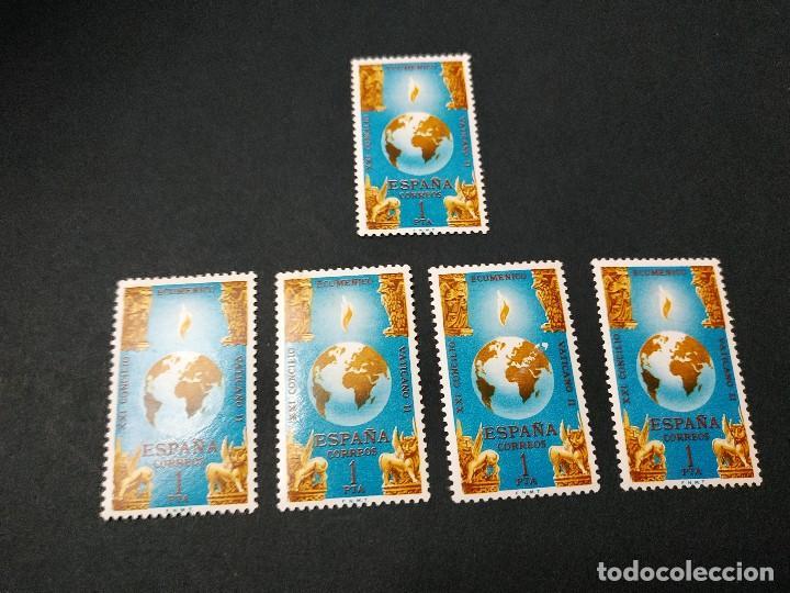 CLAUSURA CONCILIO ECUMÉNICO VATICANO II 1965 (Sellos - España - II Centenario De 1.950 a 1.975 - Nuevos)