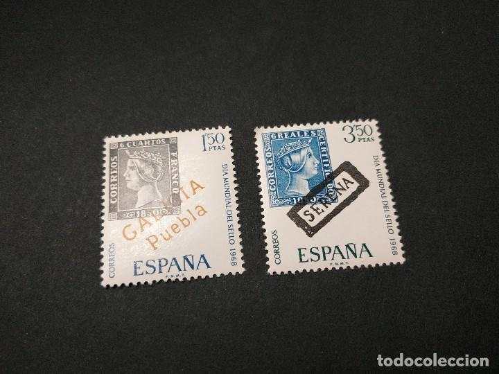 DÍA MUNDIAL DEL SELLO 1968 (Sellos - España - II Centenario De 1.950 a 1.975 - Nuevos)