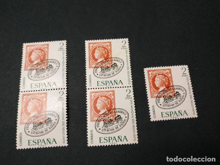 DÍA MUNDIAL DEL SELLO 1970 (Sellos - España - II Centenario De 1.950 a 1.975 - Nuevos)