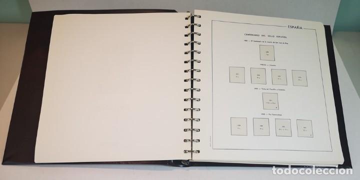 Sellos: España,colección segundo centenario 1950-1975, nuevos MNH**,albumes y hojas Edifil con filoestuche - Foto 2 - 155548582