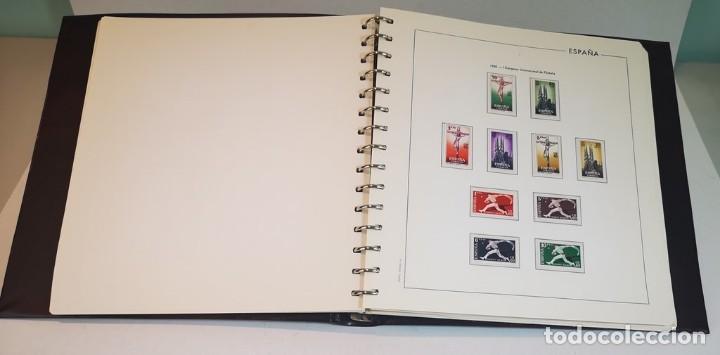 Sellos: España,colección segundo centenario 1950-1975, nuevos MNH**,albumes y hojas Edifil con filoestuche - Foto 3 - 155548582