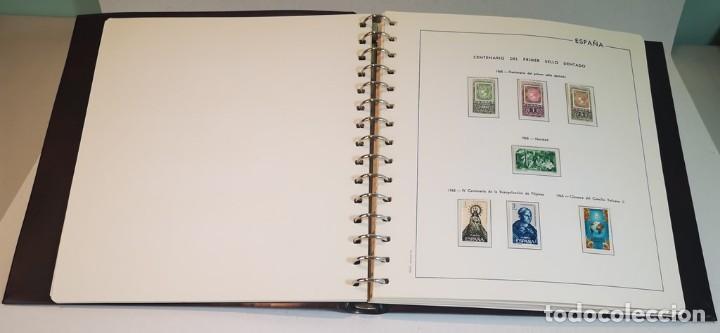 Sellos: España,colección segundo centenario 1950-1975, nuevos MNH**,albumes y hojas Edifil con filoestuche - Foto 5 - 155548582