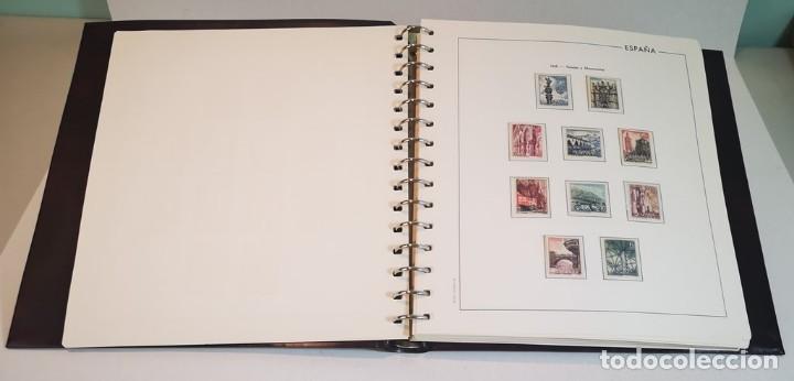 Sellos: España,colección segundo centenario 1950-1975, nuevos MNH**,albumes y hojas Edifil con filoestuche - Foto 6 - 155548582