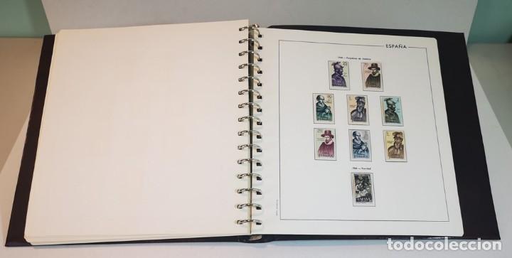 Sellos: España,colección segundo centenario 1950-1975, nuevos MNH**,albumes y hojas Edifil con filoestuche - Foto 7 - 155548582