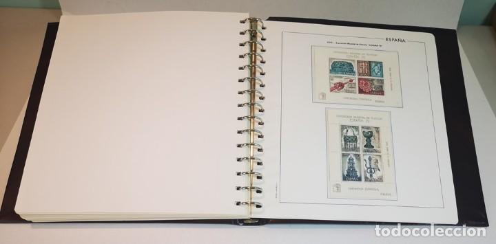 Sellos: España,colección segundo centenario 1950-1975, nuevos MNH**,albumes y hojas Edifil con filoestuche - Foto 8 - 155548582