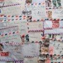 Sellos: LOTE 22 CARTAS CIRCULADAS POR AVIÓN DE SIDI IFNI A JÁTIVA (VALENCIA) AÑO 1960 - VARIOS MATASELLOS. Lote 155843690
