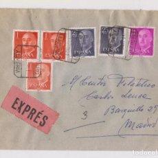 Sellos: SOBRE. CERTIFICADO EXPRÉS DE ALMERÍA A MADRID. 1961. Lote 155859446