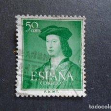 Selos: 1952 EDIFIL 1106 , V CENTENARIO FERNANDO EL CATÓLICO. Lote 156451898