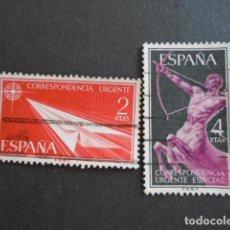 Sellos: 1956 EDIFIL 1185-1186 , URGENTE. Lote 156477458