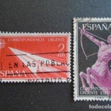 Sellos: 1956 EDIFIL 1185-1186 , URGENTE. Lote 156477506