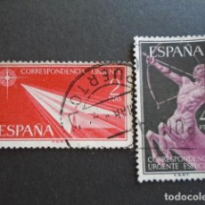 Sellos: 1956 EDIFIL 1185-1186 , URGENTE. Lote 156477586