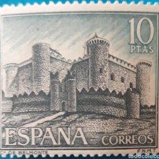 Sellos: SELLO ESPAÑA EDIFIL N°1816 CASTILLO DE BELMONTE. Lote 156968564