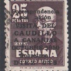 Sellos: 1951 EDIFIL Nº 1090, VISITA DEL CAUDILLO A CANARIAS, . Lote 157278986