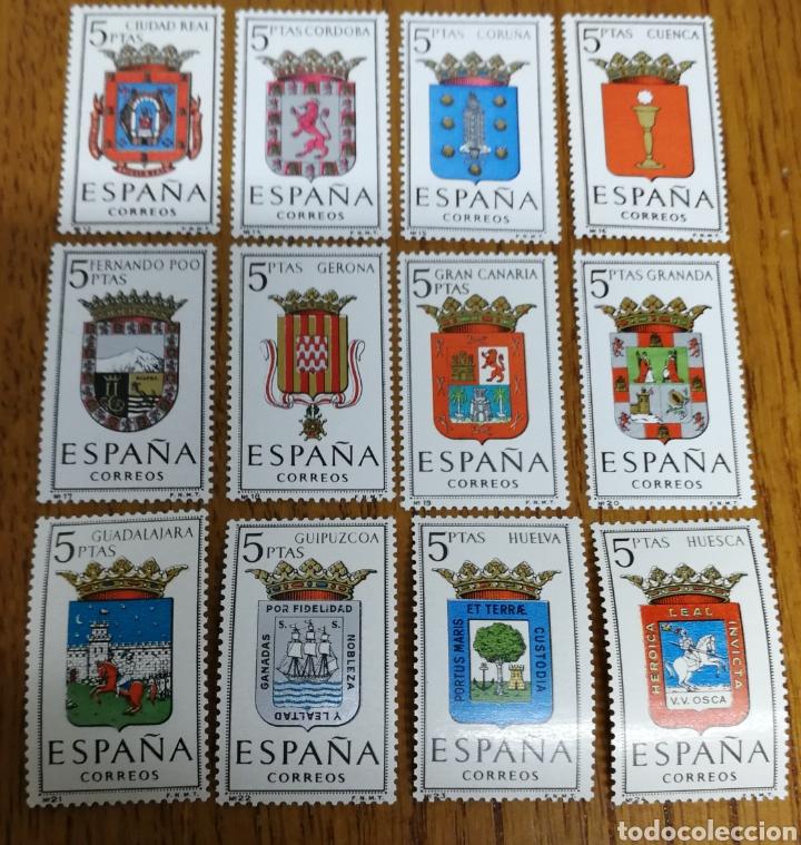 ESPAÑA:N°1481/92 MNH (Briefmarken - Spanien - Zweite Jahrhundertfeier von 1950 bis 1975 - Neu)